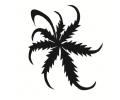 Overige Symbolen tattoo voorbeeld Wietblad klauwen