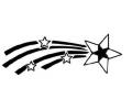 Overige Symbolen tattoo voorbeeld Vallende Ster