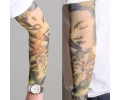 Tattoo sleeves armen tattoo voorbeeld Tattoo Sleeve 35 - Buddha Gekleurd