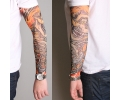 Tattoo sleeves armen tattoo voorbeeld Tattoo Sleeve 38 - Vuur