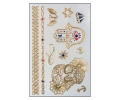 3D Flash Tattoo Sets 10 x 15 cm tattoo voorbeeld 3D Flash Tattoos Set 2 (10 x 15 cm)