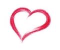 Liefde / Valentijn tattoo voorbeeld Hartje 1