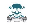 Overige tattoo voorbeeld Skelet