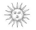 Overige Symbolen tattoo voorbeeld Zon 2