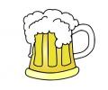 Drank / Bier tattoo voorbeeld Bier 1