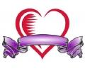 Liefde / Valentijn tattoo voorbeeld Hartje groot 4