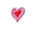 Liefde / Valentijn tattoo voorbeeld Hartje midden 3