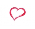 Liefde / Valentijn tattoo voorbeeld Hartje midden 5