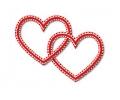 Liefde / Valentijn tattoo voorbeeld Hartjes