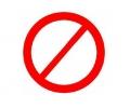 Overige Symbolen tattoo voorbeeld Verboden 2