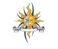 Overige Symbolen tattoo voorbeeld Zon