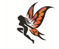 Overige Symbolen tattoo voorbeeld Dame vleugels