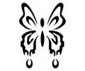 Vlinders tattoo voorbeeld Vlinder 2