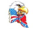 USA & Redneck Tattoos tattoo voorbeeld Adelaar met Amerikaanse Vlag