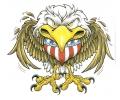 Adelaars tattoo voorbeeld Amerikaanse Adelaar