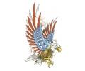 Adelaars tattoo voorbeeld Amerikaanse Adelaar XL