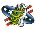 Wapens tattoo voorbeeld Amerikaanse Granaat