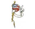 USA & Redneck Tattoos tattoo voorbeeld Amerikaanse Vlaggenmast