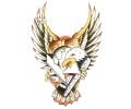 Overige Vogels tattoo voorbeeld Arend met Mes