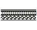 Nieuw!!! Plaktattoos tattoo voorbeeld Maori Armband 4