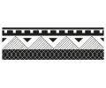 Nieuw!!! Plaktattoos tattoo voorbeeld Maori Armband 5