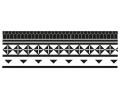 Nieuw!!! Plaktattoos tattoo voorbeeld Maori Armband 6