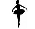 Nieuw!!! Plaktattoos tattoo voorbeeld Ballerina 2