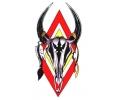 Overige dieren tattoo voorbeeld Bison Skull