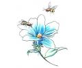 Bloemen tattoo voorbeeld Bloem 1