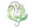 Bloemen tattoo voorbeeld Bloem 5