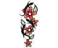Bloemen tattoo voorbeeld Bloemen 1