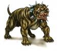 Honden tattoo voorbeeld Boze Bulldog