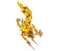 Vlammen & Vuur tattoo voorbeeld Boze Vlam