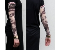 Tattoo sleeves armen tattoo voorbeeld Buddha grey 2