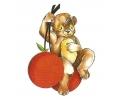 Teddyberen tattoo voorbeeld Cherry Teddy