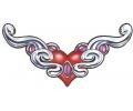 Onderrug Tattoos tattoo voorbeeld Chrome Heart