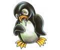 Overige Vogels tattoo voorbeeld Misselijke Pinguin