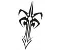 Wapens tattoo voorbeeld Dolk