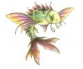 Vissen & Koi Karpers tattoo voorbeeld Fairy Fish