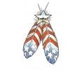 USA & Redneck Tattoos tattoo voorbeeld Feathers of America