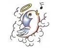 Overige Vogels tattoo voorbeeld Fluitend Vogeltje