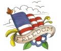 USA & Redneck Tattoos tattoo voorbeeld Freedom