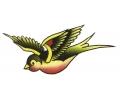 Zwaluwen tattoo voorbeeld Gele Spreeuw