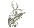 Overige Vogels tattoo voorbeeld Heel veel veren