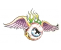 Boosaardige Tattoos tattoo voorbeeld Het Boze Oog