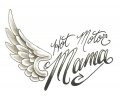 Motor / Biker tattoo voorbeeld Hot Motor Mama