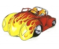 Auto Fanaat tattoo voorbeeld Hot Rod 3