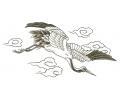 Overige Vogels tattoo voorbeeld In de wolken