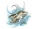 Haaien tattoo voorbeeld Kleine Haai