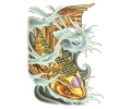 Vissen & Koi Karpers tattoo voorbeeld Koi 2